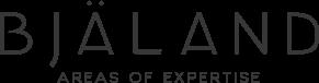 Bjäland - Areas of Expertise