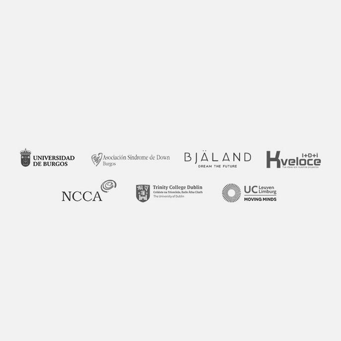 Logos socios de formación online con accesibilidad web