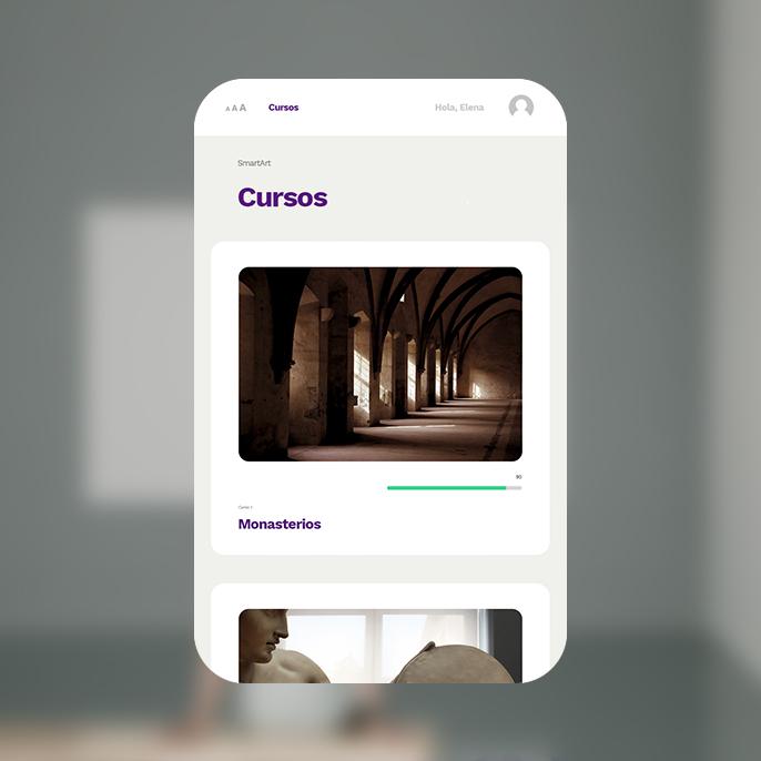 Diseño VLE con avatar y lector de textos